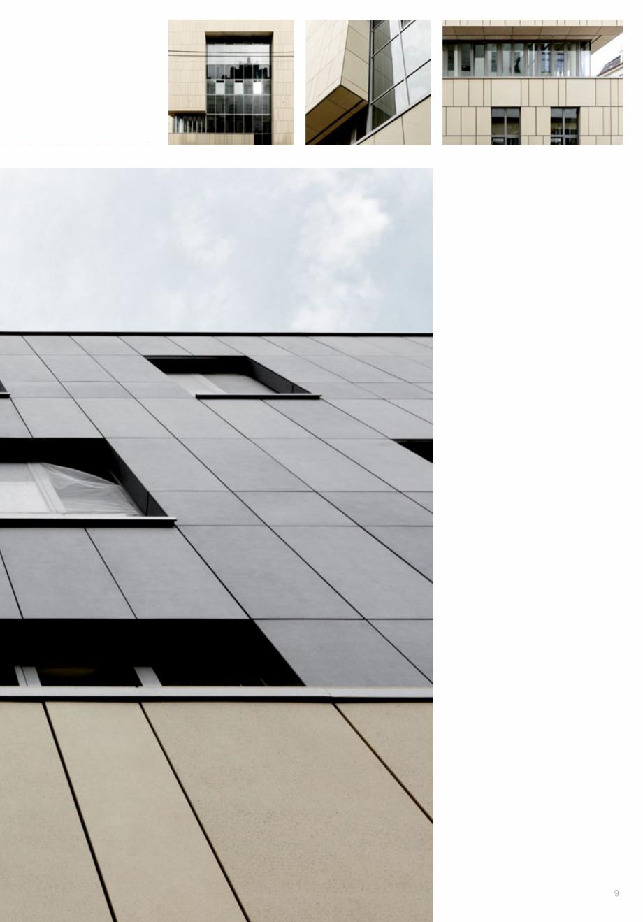 Pagina 11 - Panouri din beton aparent RIEDER Concrete Skin Lucrari, proiecte Engleza warovski...
