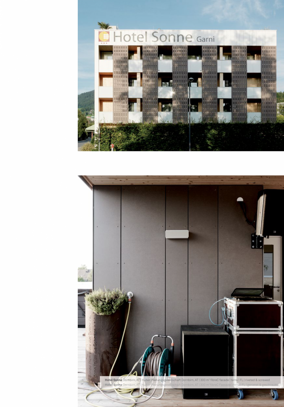 Pagina 17 - Panouri din beton aparent RIEDER Concrete Skin Lucrari, proiecte Engleza  m2 fibreC...