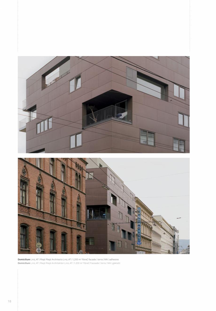 Pagina 20 - Panouri din beton aparent RIEDER Concrete Skin Lucrari, proiecte Engleza ben,...