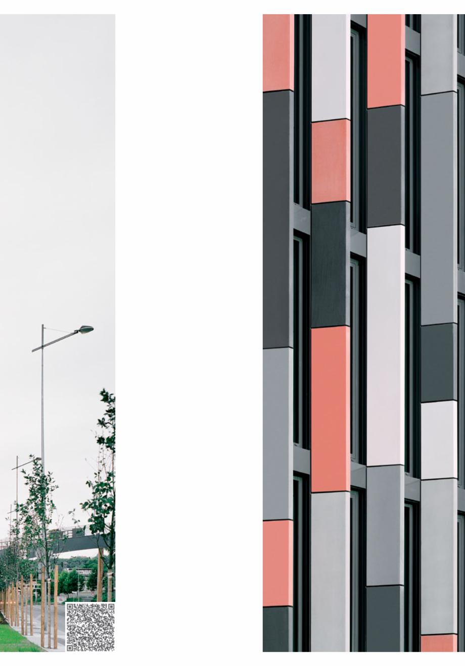 Pagina 25 - Panouri din beton aparent RIEDER Concrete Skin Lucrari, proiecte Engleza ibreC Fassade |...