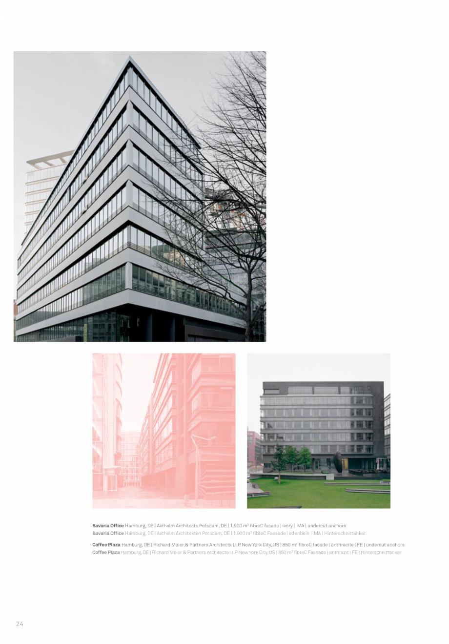 Pagina 26 - Panouri din beton aparent RIEDER Concrete Skin Lucrari, proiecte Engleza  München, DE |...