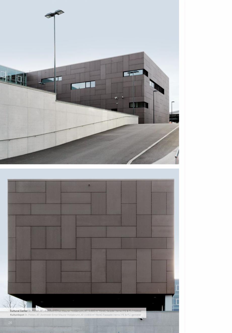 Pagina 28 - Panouri din beton aparent RIEDER Concrete Skin Lucrari, proiecte Engleza h Regionen und ...