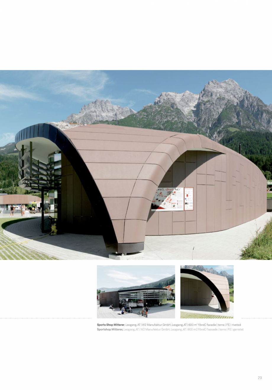 Pagina 31 - Panouri din beton aparent RIEDER Concrete Skin Lucrari, proiecte Engleza   Öko Skin ...