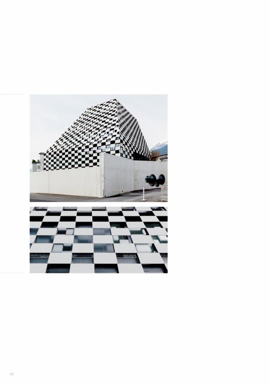 Pagina 44 - Panouri din beton aparent RIEDER Concrete Skin Lucrari, proiecte Engleza