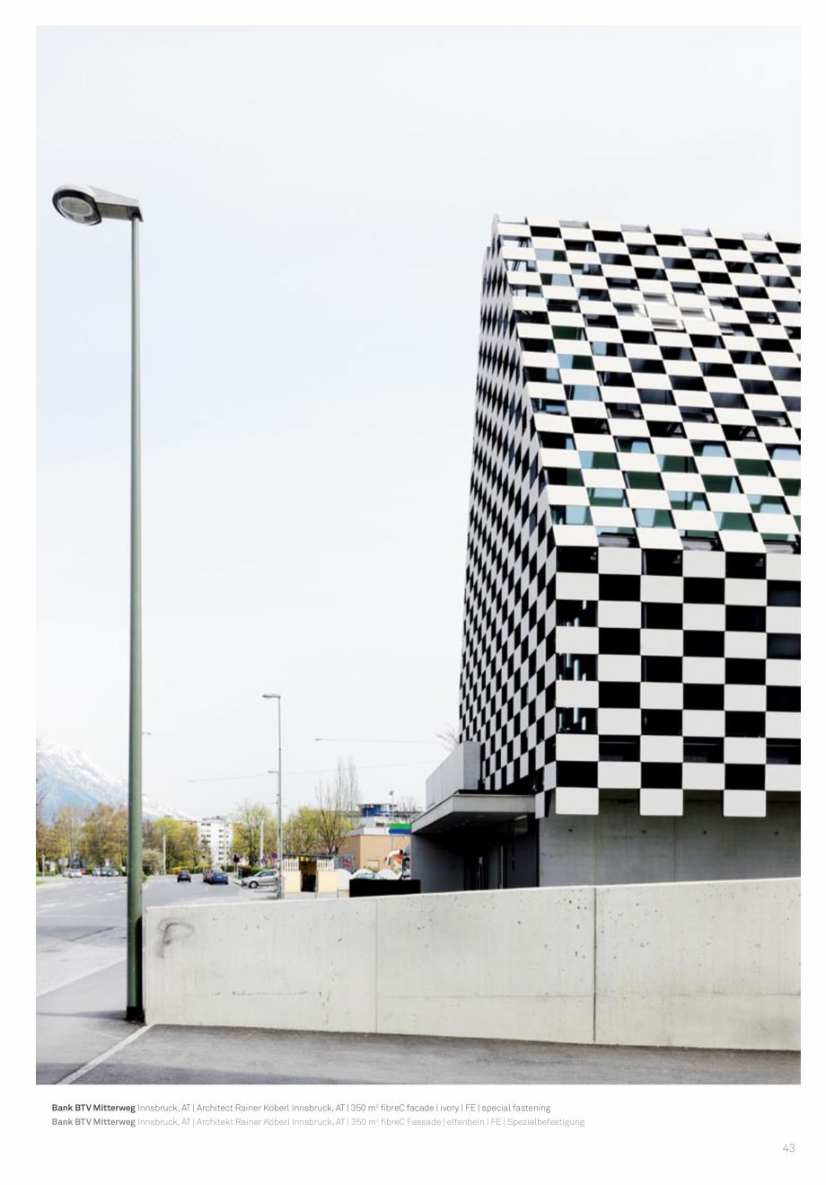 Pagina 45 - Panouri din beton aparent RIEDER Concrete Skin Lucrari, proiecte Engleza