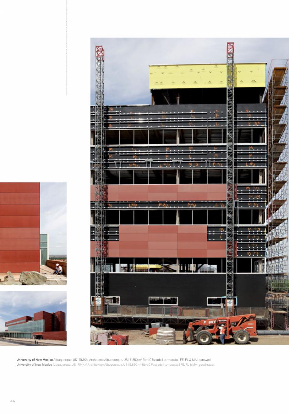 Pagina 46 - Panouri din beton aparent RIEDER Concrete Skin Lucrari, proiecte Engleza
