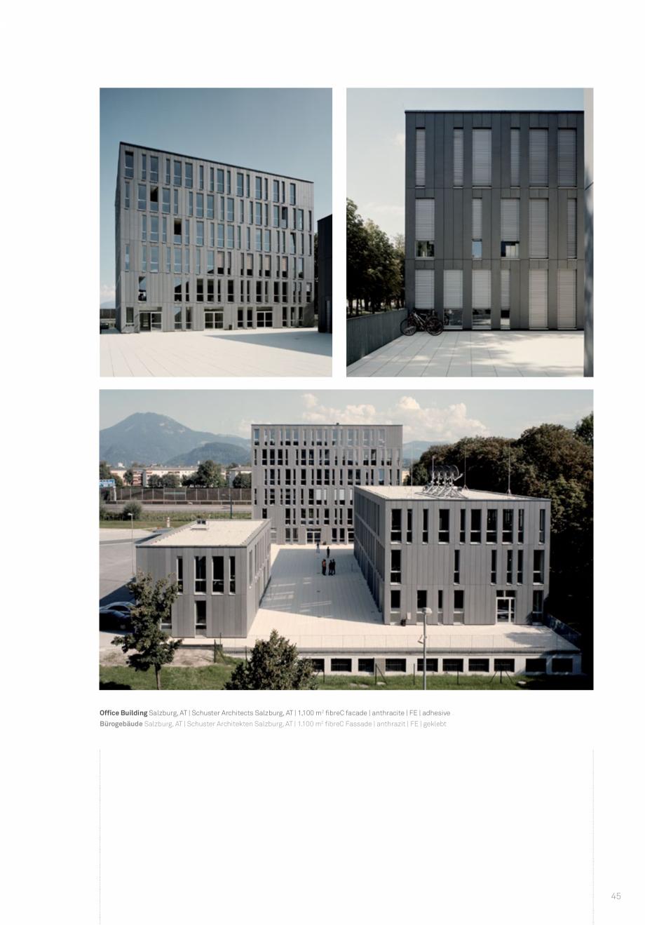 Pagina 47 - Panouri din beton aparent RIEDER Concrete Skin Lucrari, proiecte Engleza