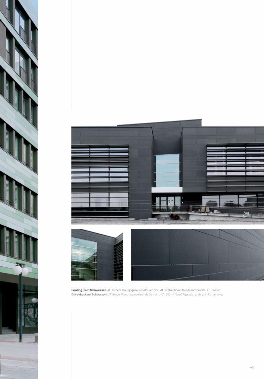 Pagina 51 - Panouri din beton aparent RIEDER Concrete Skin Lucrari, proiecte Engleza