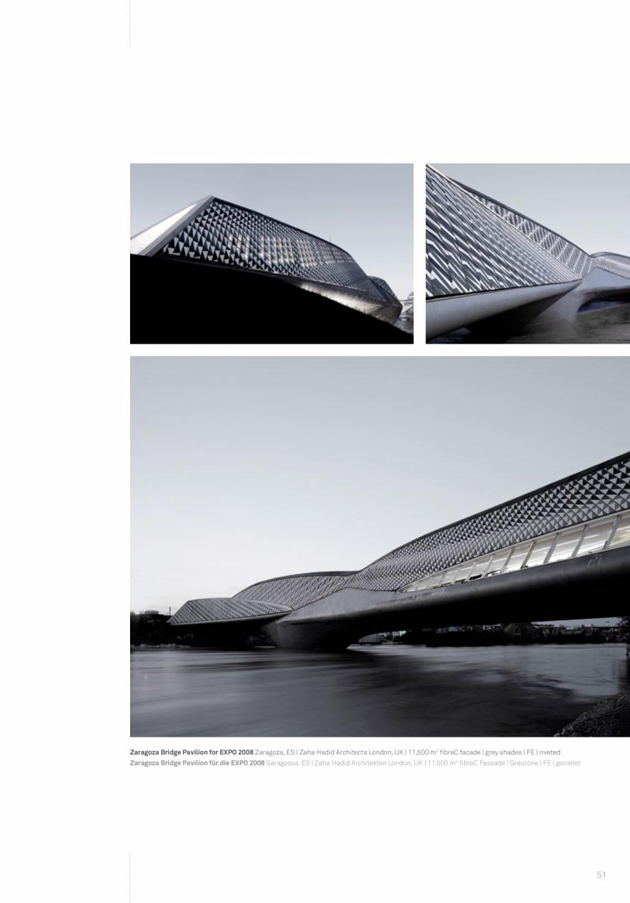 Pagina 53 - Panouri din beton aparent RIEDER Concrete Skin Lucrari, proiecte Engleza