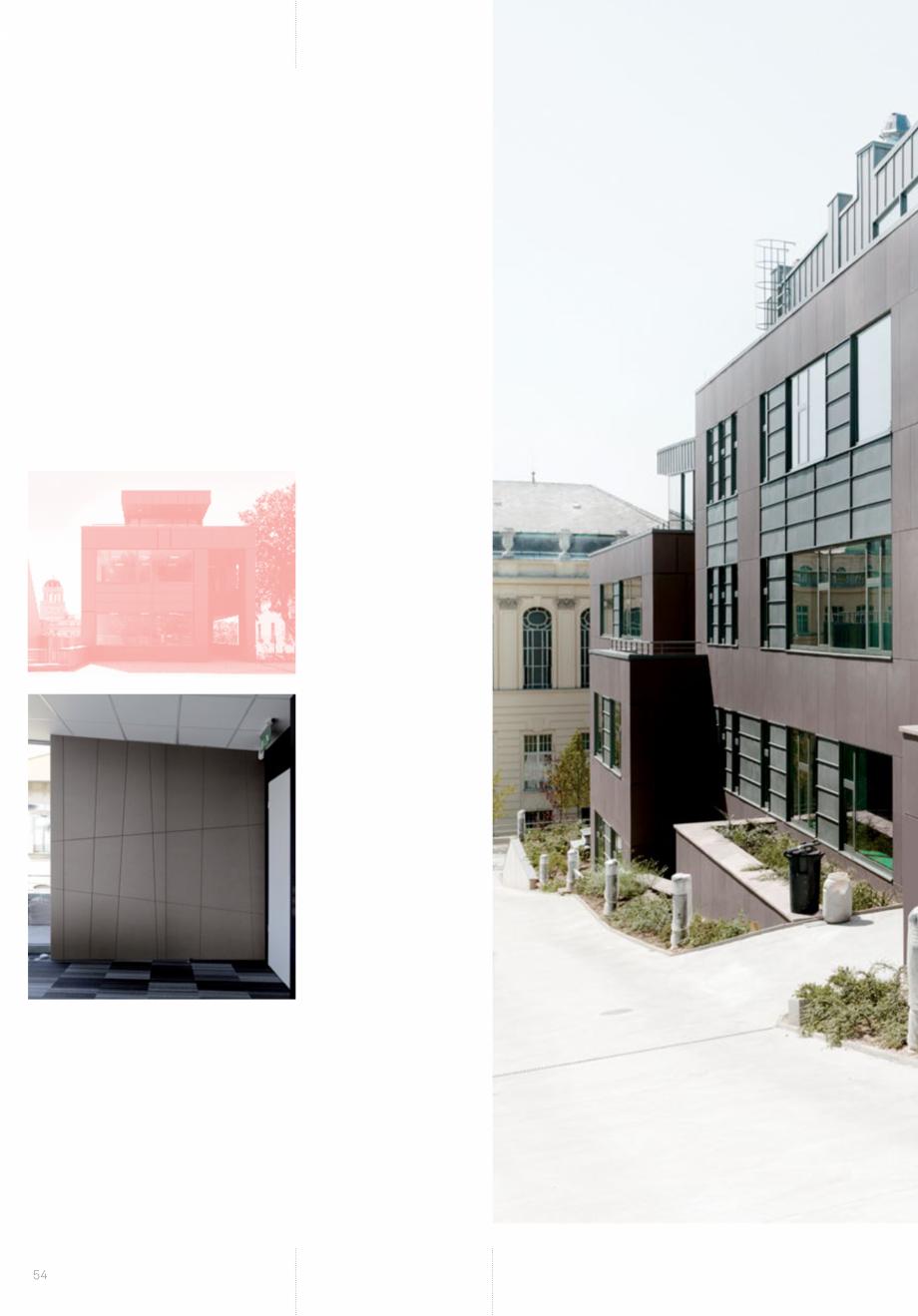 Pagina 56 - Panouri din beton aparent RIEDER Concrete Skin Lucrari, proiecte Engleza