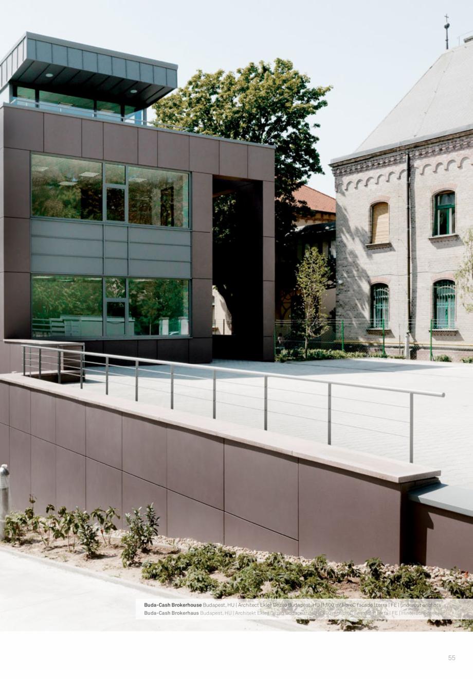 Pagina 57 - Panouri din beton aparent RIEDER Concrete Skin Lucrari, proiecte Engleza