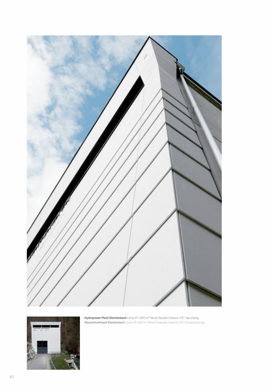 Pagina 62 - Panouri din beton aparent RIEDER Concrete Skin Lucrari, proiecte Engleza