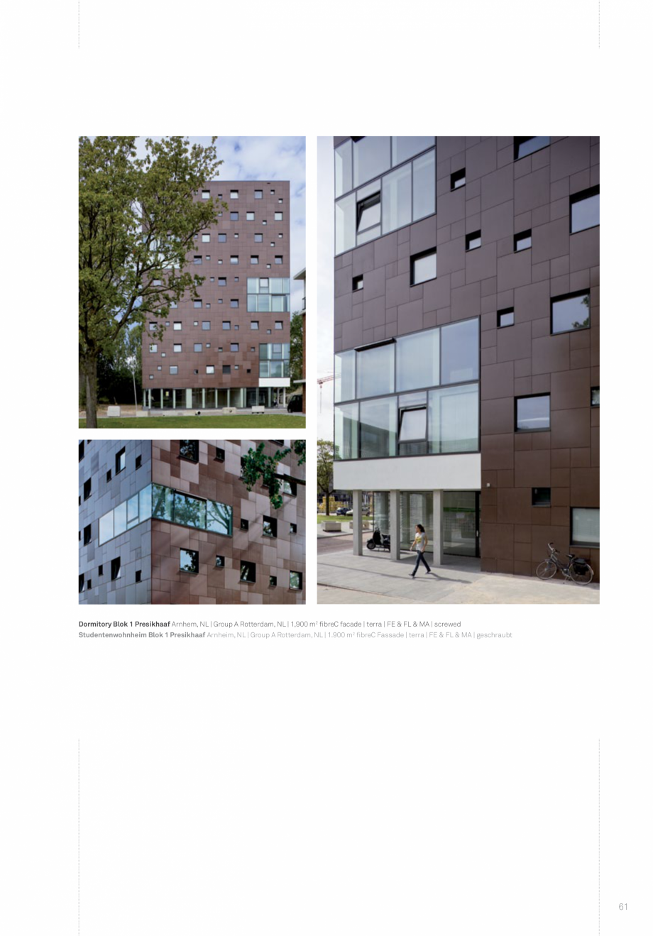 Pagina 63 - Panouri din beton aparent RIEDER Concrete Skin Lucrari, proiecte Engleza
