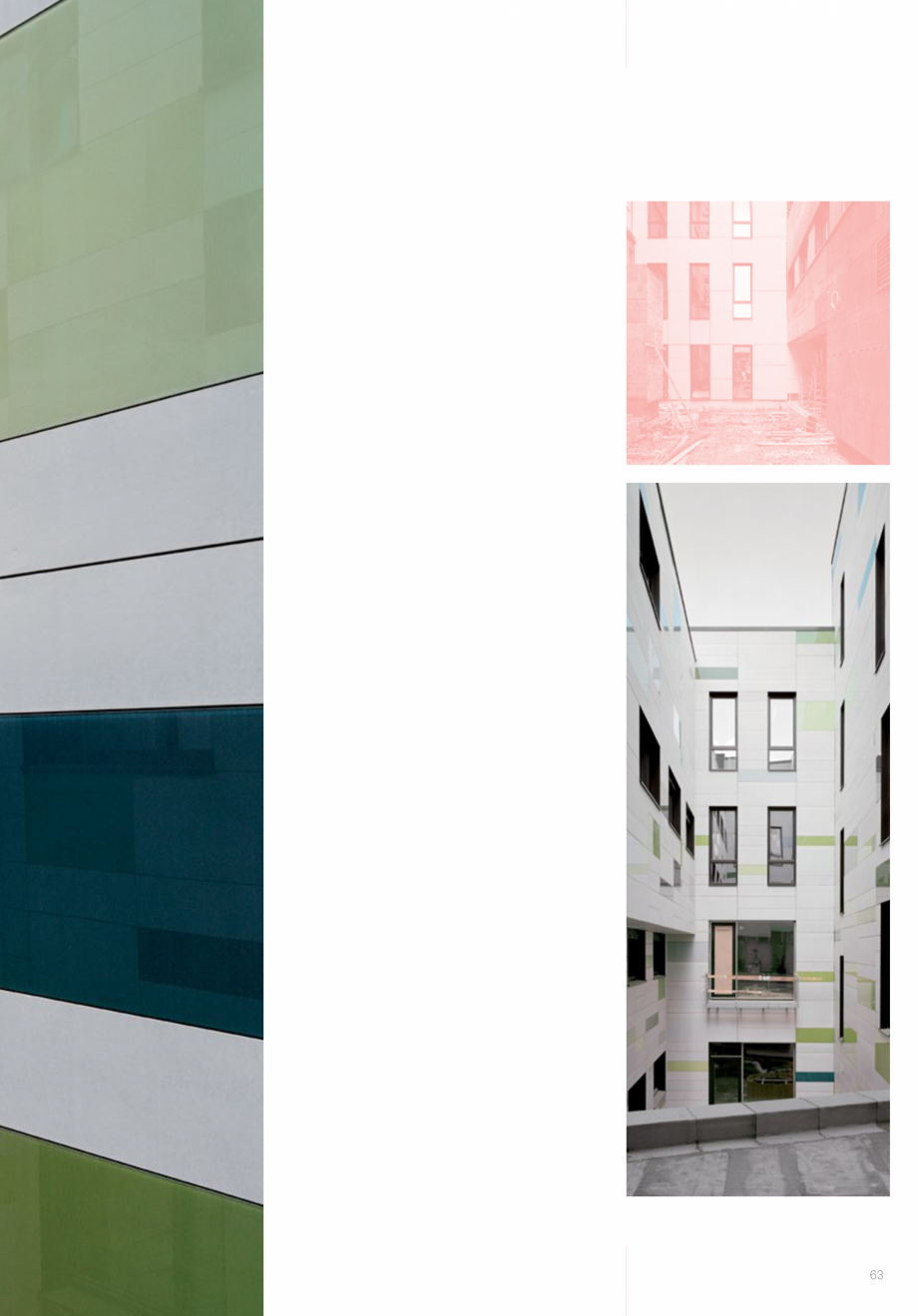 Pagina 65 - Panouri din beton aparent RIEDER Concrete Skin Lucrari, proiecte Engleza