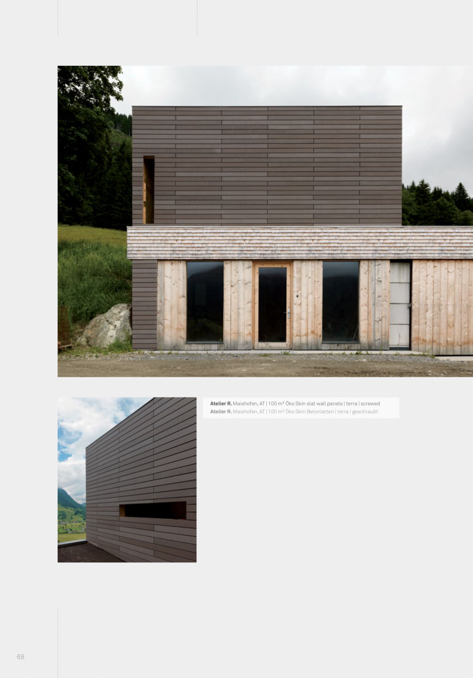 Pagina 70 - Panouri din beton aparent RIEDER Concrete Skin Lucrari, proiecte Engleza