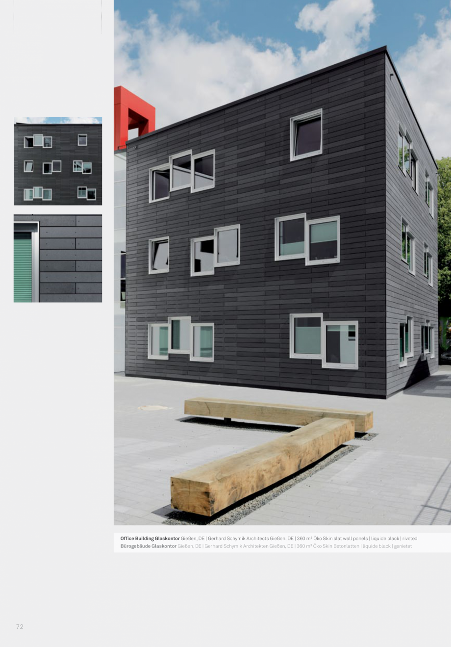 Pagina 74 - Panouri din beton aparent RIEDER Concrete Skin Lucrari, proiecte Engleza