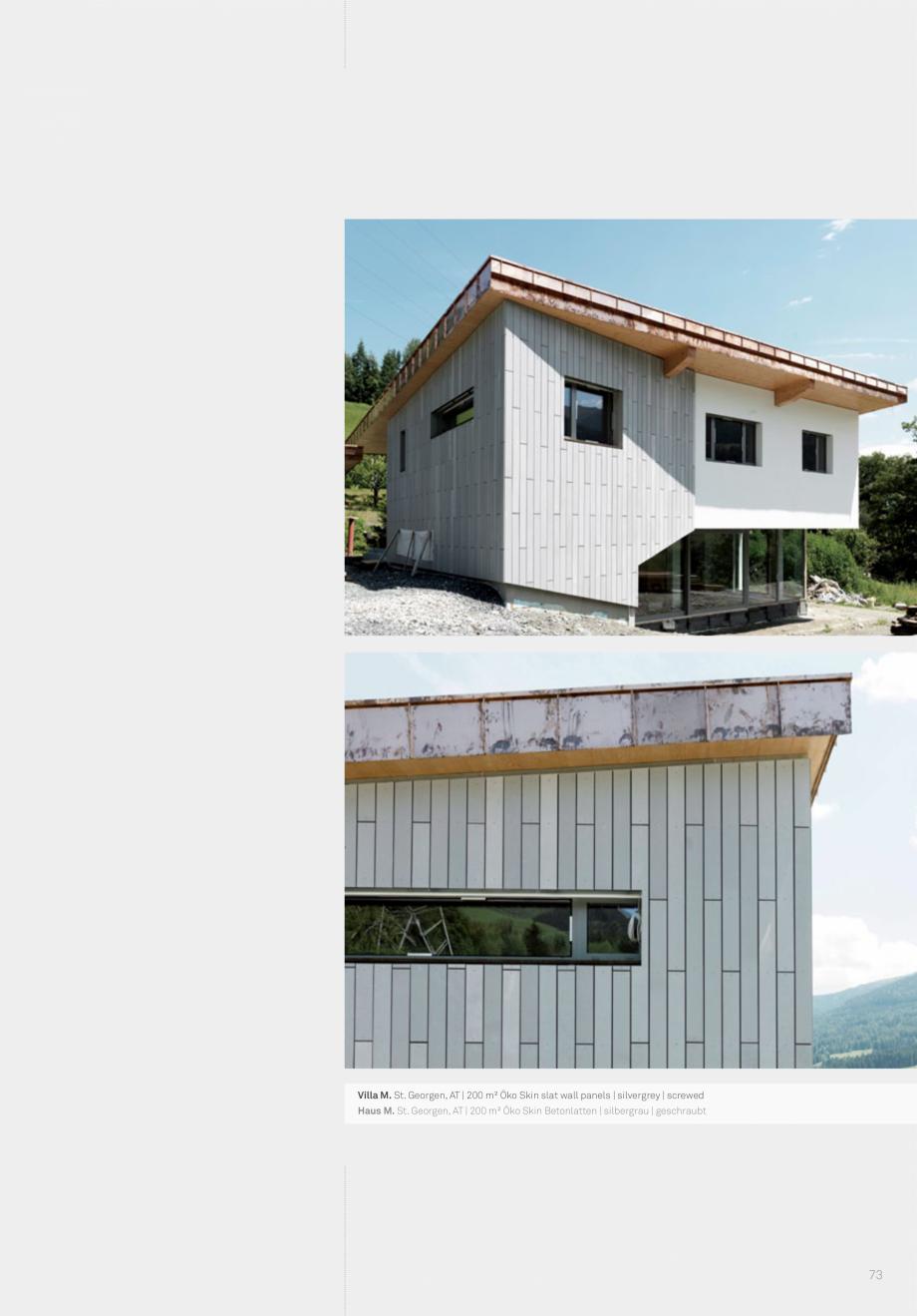 Pagina 75 - Panouri din beton aparent RIEDER Concrete Skin Lucrari, proiecte Engleza