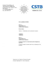 Certificat ETA 06/0135 PIZ