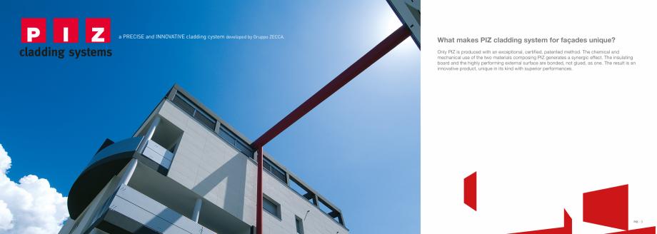 Fisa tehnica Panouri termoizolante cu finisaj decor PIZ PIZ Panouri termoizolante cu finisaj decor  GEPLAST  Condominio San Giuseppe MORBEGNO (SO)  42 |  PIZ | 43  Setificio Ratti GUANZATE (CO) ITALY  44 | ... - Pagina 3