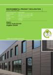 Declaratia de mediu (EPD) pentru sisteme de fatada din ceramica ARGETON