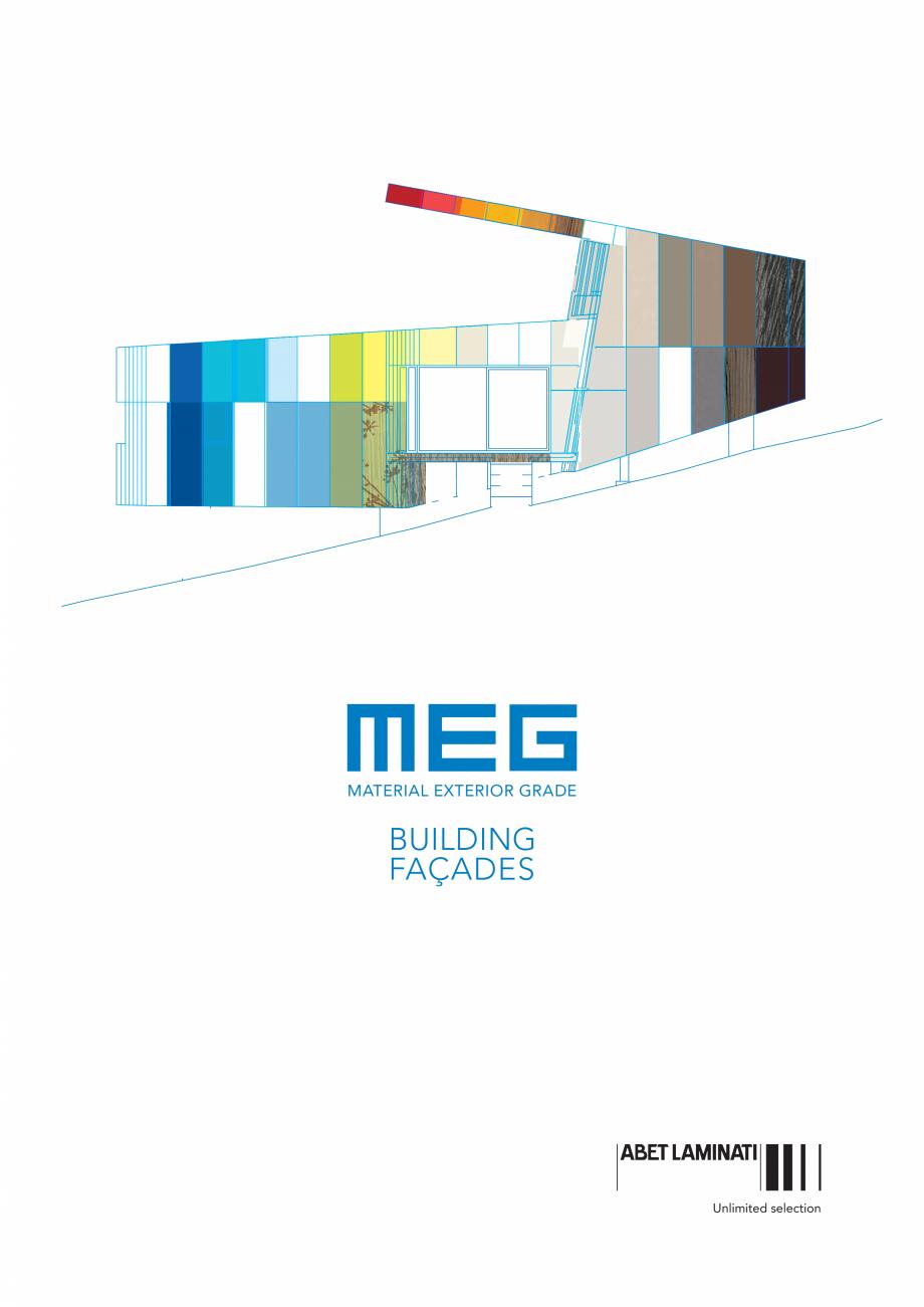 Pagina 1 - Gama de culori MEG panou HPL cu fete decor pentru exterior ABET LAMINATI Fisa tehnica...