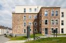 Proiecte realizate cu caramida aparenta | AARHUS gelbbunt carbon