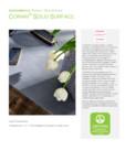 Declaratie de mediu pentru placi minerale pentru interioare CORIAN® Solid Surface