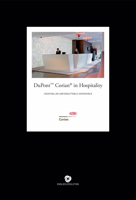 Pagina 1 - Utilizarea  placilor minerale pentru interioare in hoteluri CORIAN® Solid Surface ...