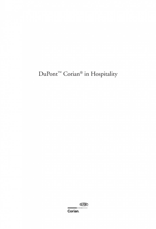Pagina 2 - Utilizarea  placilor minerale pentru interioare in hoteluri CORIAN® Solid Surface ...