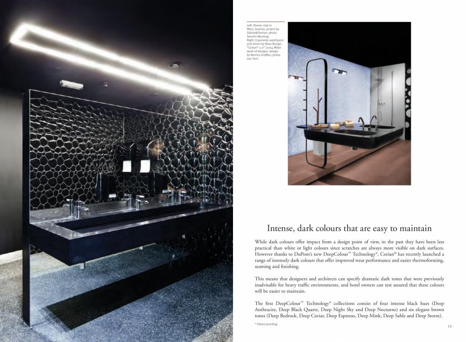 Pagina 8 - Utilizarea  placilor minerale pentru interioare in hoteluri CORIAN® Solid Surface ...