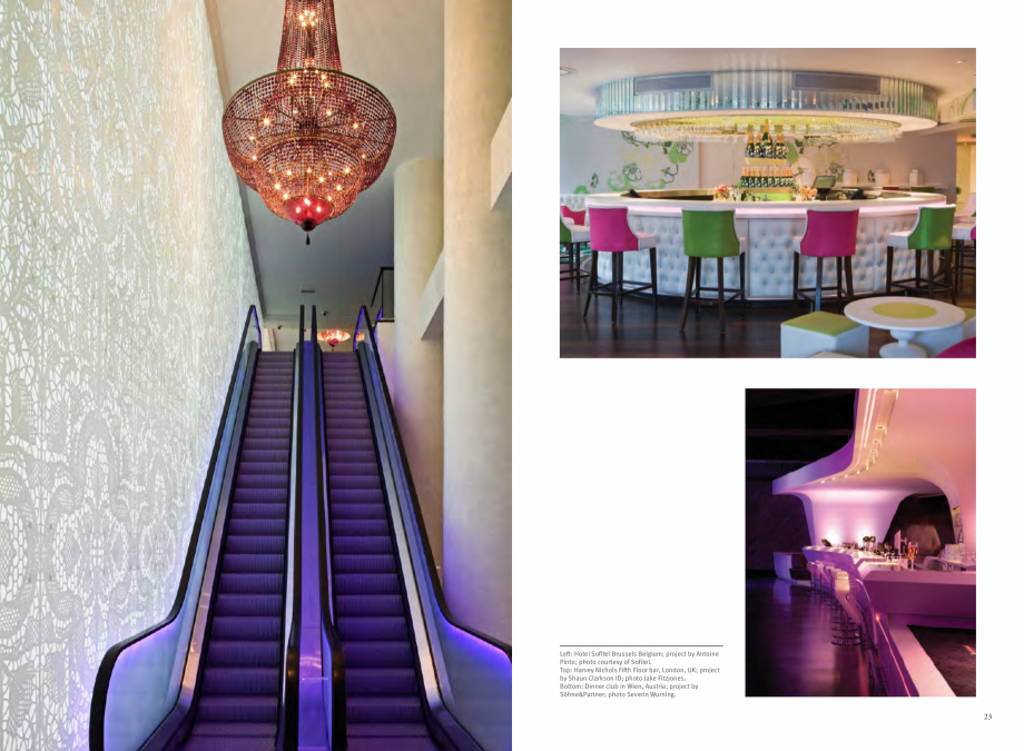 Pagina 13 - Utilizarea  placilor minerale pentru interioare in hoteluri CORIAN® Solid Surface ...