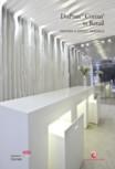 Crearea unei ambiate unice cu placile minerale pentru interioare CORIAN® Solid Surface