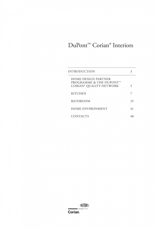 Pagina 2 - Interioare realizate cu placi minerale CORIAN® Solid Surface  CORIAN® Solid...