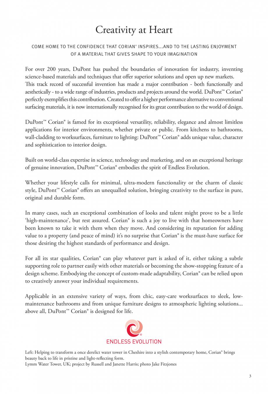Pagina 4 - Interioare realizate cu placi minerale CORIAN® Solid Surface  CORIAN® Solid...