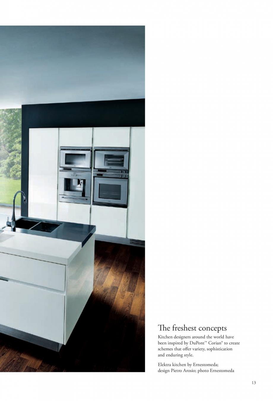 Pagina 14 - Interioare realizate cu placi minerale CORIAN® Solid Surface  CORIAN® Solid...