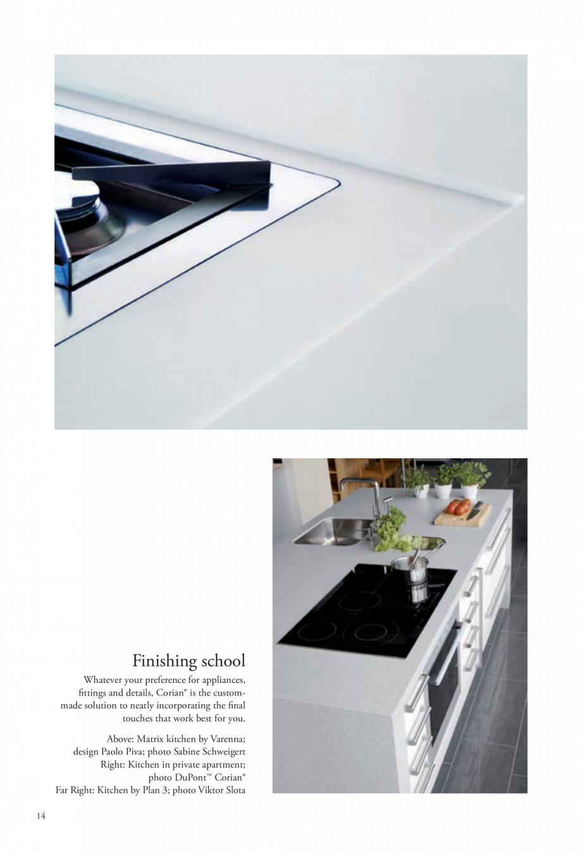Pagina 15 - Interioare realizate cu placi minerale CORIAN® Solid Surface  CORIAN® Solid...