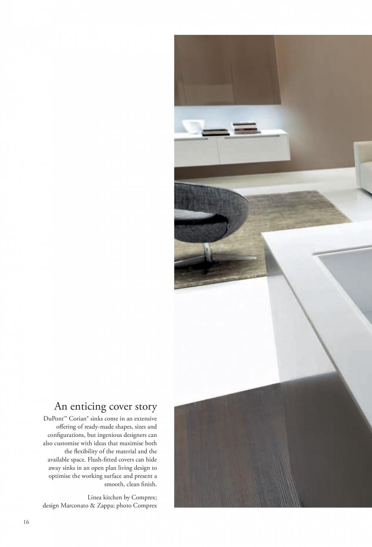 Pagina 17 - Interioare realizate cu placi minerale CORIAN® Solid Surface  CORIAN® Solid...