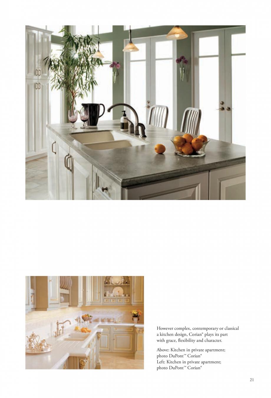Pagina 22 - Interioare realizate cu placi minerale CORIAN® Solid Surface  CORIAN® Solid...