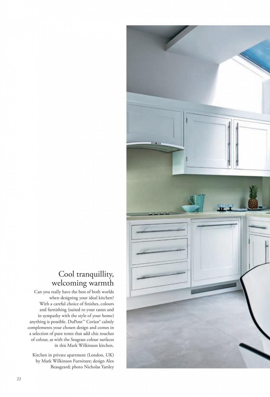 Pagina 23 - Interioare realizate cu placi minerale CORIAN® Solid Surface  CORIAN® Solid...