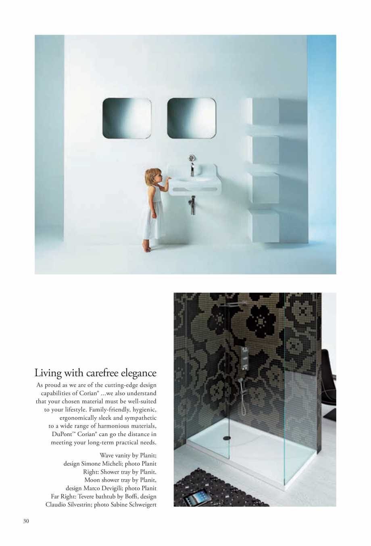 Pagina 31 - Interioare realizate cu placi minerale CORIAN® Solid Surface  CORIAN® Solid...