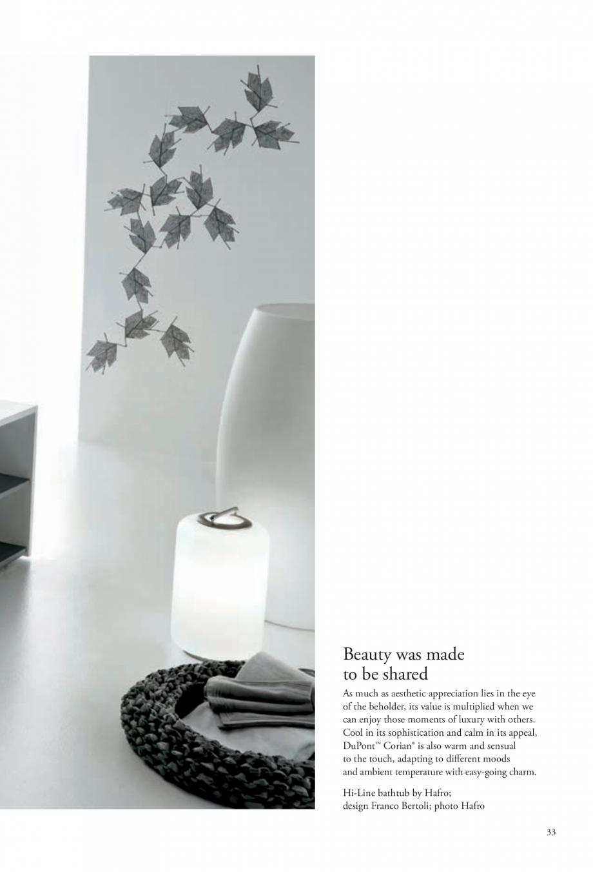 Pagina 34 - Interioare realizate cu placi minerale CORIAN® Solid Surface  CORIAN® Solid...