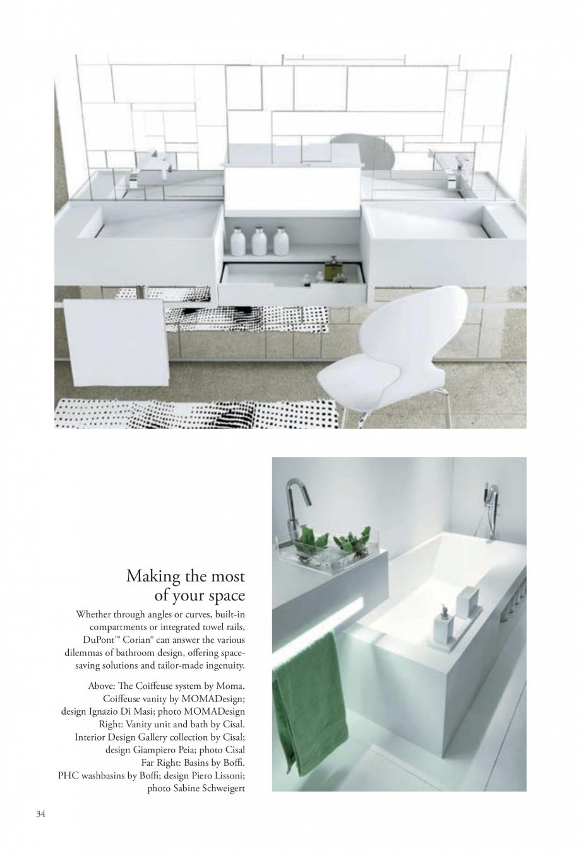 Pagina 35 - Interioare realizate cu placi minerale CORIAN® Solid Surface  CORIAN® Solid...