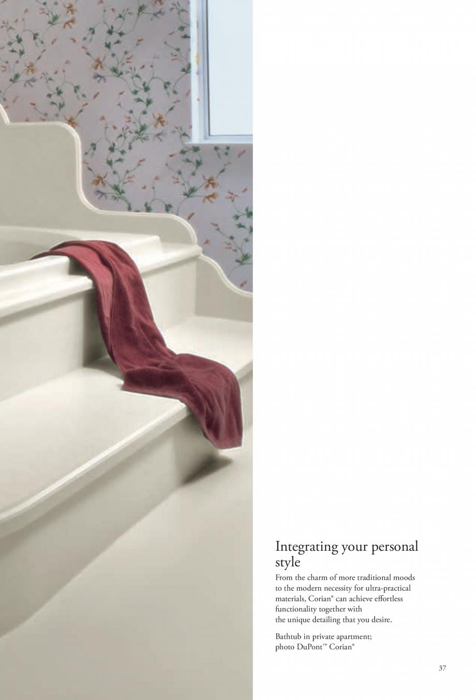 Pagina 38 - Interioare realizate cu placi minerale CORIAN® Solid Surface  CORIAN® Solid...