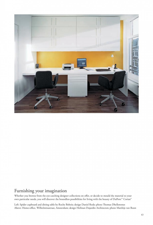 Pagina 44 - Interioare realizate cu placi minerale CORIAN® Solid Surface  CORIAN® Solid...