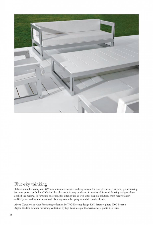 Pagina 45 - Interioare realizate cu placi minerale CORIAN® Solid Surface  CORIAN® Solid...