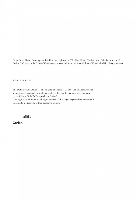 Pagina 53 - Interioare realizate cu placi minerale CORIAN® Solid Surface  CORIAN® Solid...