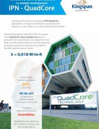 Panouri termoizolante IPN-QuadCore