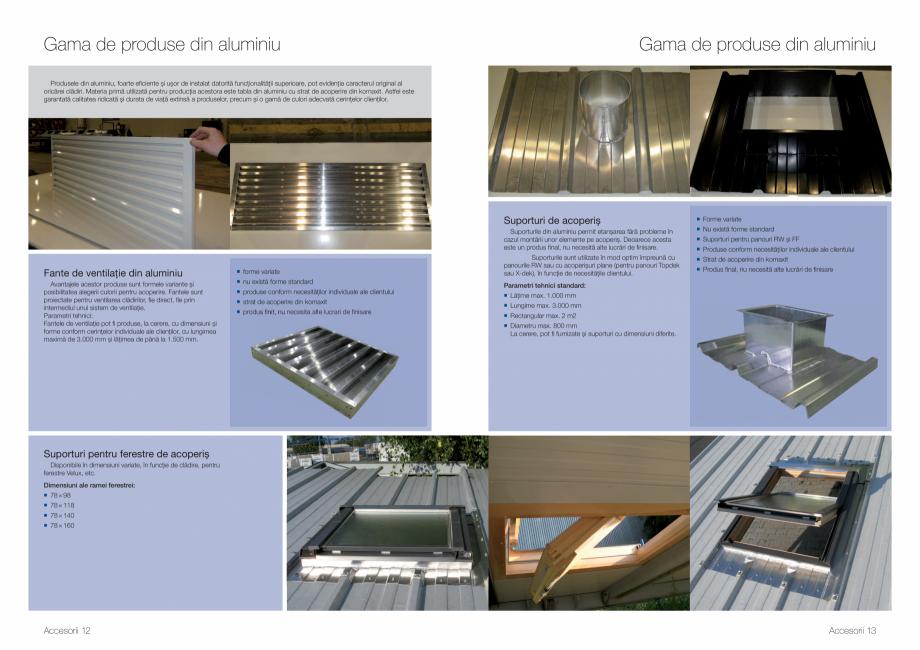Pagina 7 - Gama de Accesorii Kingspan - Brosura KINGSPAN Catalog, brosura Romana compus din...