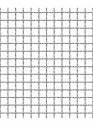 Plasa din sarma ondulata 10 x 10 x 2 mm