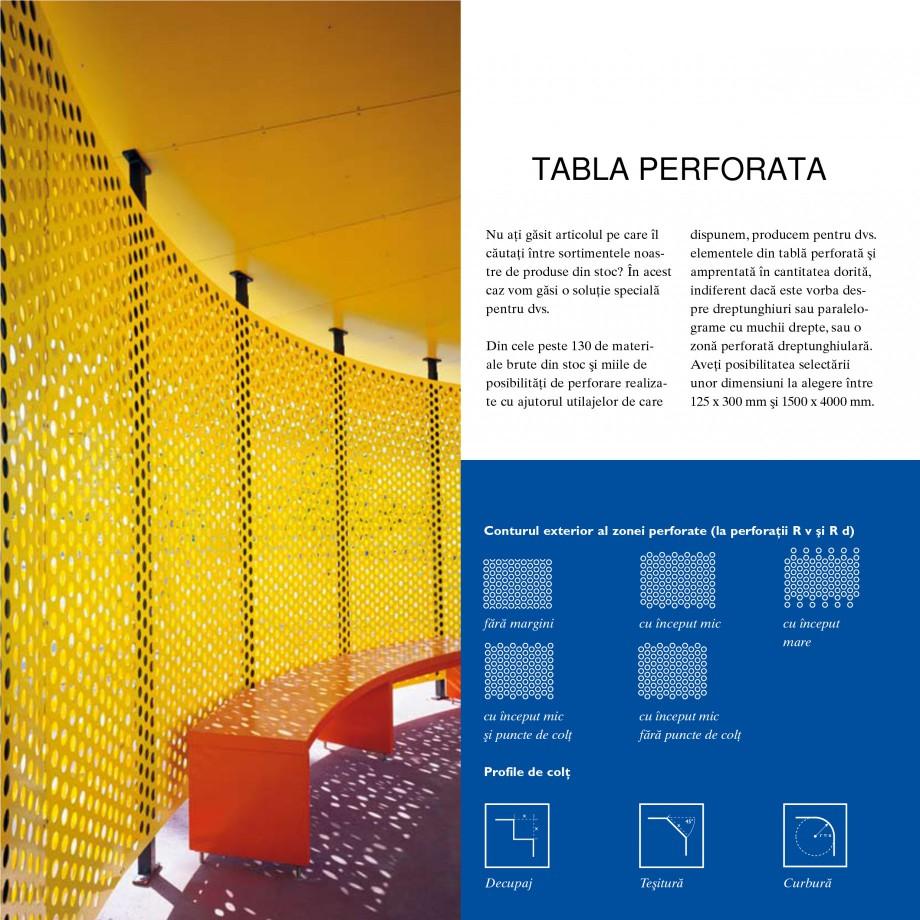 Pagina 1 - Tabla perforata STANTOBANAT Matrix 5-35, EVH 8-50, Lilie 90-28, Nr.154, Arabica 20-24,...